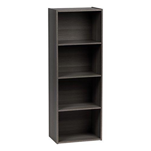 IRIS USA, Inc. 596483 CX-4 Storage Shelf, 4-Tier, Gray (4 Shelf Bed)
