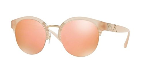 Burberry Women's 0BE4241 Matte Pink/Gold Mirror Orange One - Pink Burberry