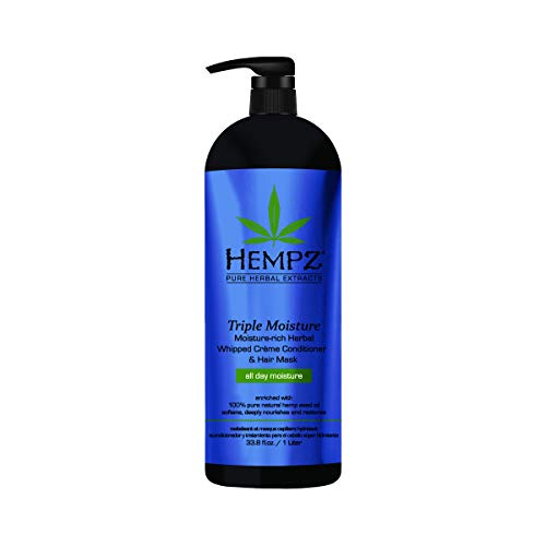 Hempz Triple Moisture-Rich Herbal Whipped Creme Conditioner