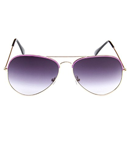 80's de UV400 Violet Protection Rétro Femme Lunettes Pilote MissFox Aviateur soleil Vintage 6ASSqw