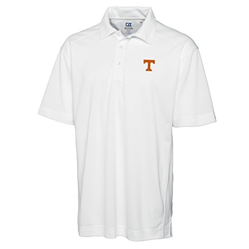 Cutter & Buck NCAA Tennessee Volunteers Men's Genre Polo Shirt, X-Large, White -