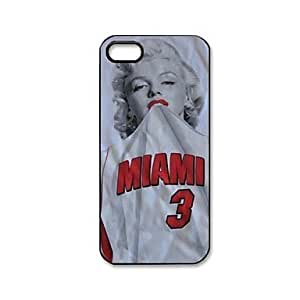 High Quality Miami Monroe Pattern Plastic Hard Case for iPhone 5/5S