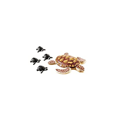 PLAYMOBIL Sea Turtle with Babies Building Set: Toys & Games