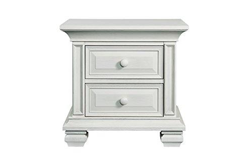 (New Haven 2 Drawer Nightstand Oyster)