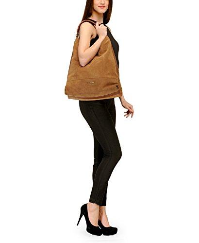 Con Tarjeta De Crédito En Línea Barata Phive Rivers donna in pelle Hobo bag (tan) (PR1093) A Precio Reducido Venta Llegar A Comprar Comprar En Línea De Alta Calidad KC7rS5vl