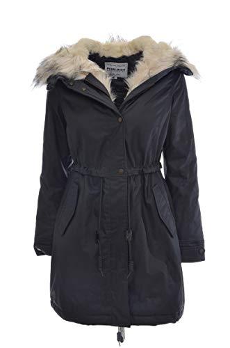 Parka cappuccio rich Woolrich By Scuro Blu sadie Pelliccia In Eskimo Penn Donna dXqtX