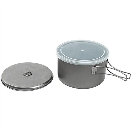 Snow Peak Titanium Cook N Save Cookware (Multi Compact Cookset)
