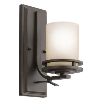 Kichler 5076OZ One Light Wall Sconce  sc 1 st  Amazon.com : light wall sconce - azcodes.com