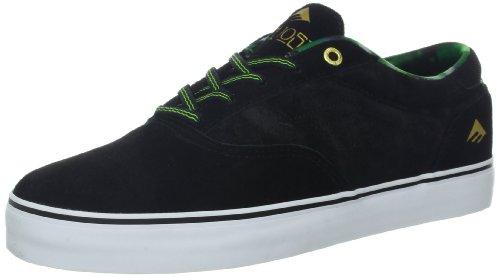 Emerica THE PROVOST - Zapatillas de cuero hombre Black/Green