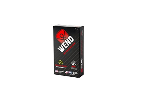 Wend Nf Performance Hot Melt/Rub-on - Boxed Mid Wax, Red