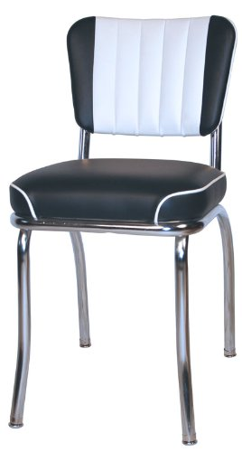 Retro 50's Channel Back Diner Chair Review