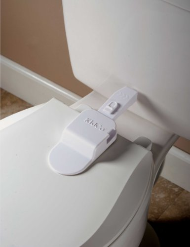 KidCo Adhesive Toilet Lock - 2 Pack by KidCo