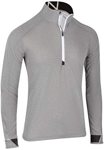 Zero Restriction Lightweight Pullover - Zero Restriction 1/4 Zip Pullover Grey Heather Medium