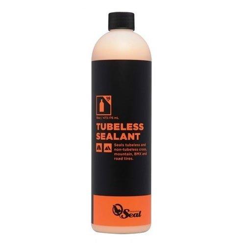 (Orange Seal Cycling Regular Tubeless Tire Sealant Refill, 16 oz)