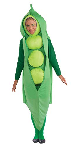 Forum Women's Pea Pod Costume - Small (Halloween Cute Costumes For Couples)