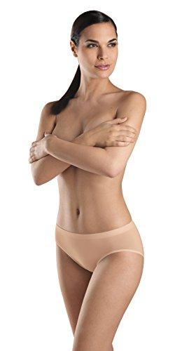 Hanro High Cut Brief - Hanro Women's Touch Feeling High Cut Brief Panty, Skin, Small