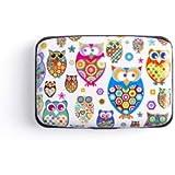 Credit Card Holder Owls Design