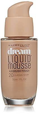 Maybelline New York Dream Liquid Mousse Foundation, 1 Fluid Ounce
