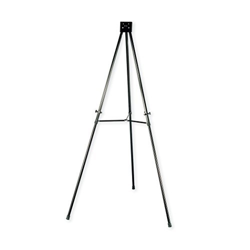 Quartet 56E Heavy-Duty Adjustable Telescoping Tripod Easel- 38