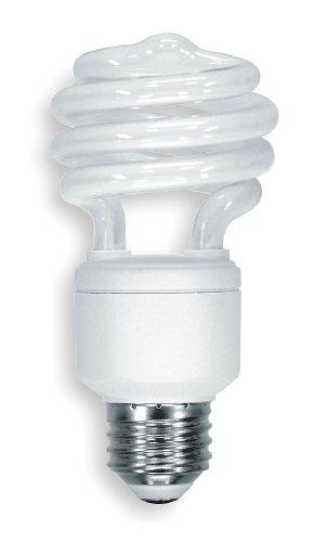 GE LIGHTING 20W, T2 Screw-In Fluorescent Light Bulb - 20 000 Hr Light Bulbs