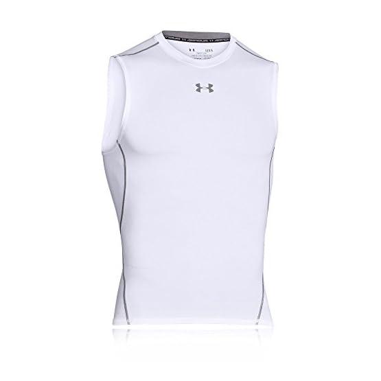 3802f219b Under Armour Men's HeatGear Armour Sleeveless Compression Shirt ...