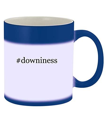#downiness - 11oz Hashtag Magic Color Changing Mug, Blue
