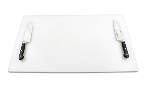 Commercial Plastic Cutting Board for Kitchens, Extra Large 30 x 18 x 0.5 Inch, NSF