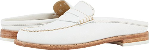 G.H. Bass & Co. Women's Wynn Weejuns White Leather 9.5 M ()