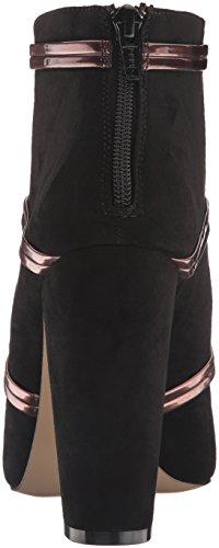 Daya By Zendaya Mujeres Albert Dress Sandalia Negro / Bronce
