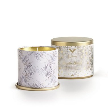 Illume Candle Tin Demi Winter White, 1 Each