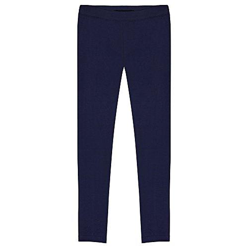 French Toast Big Girls' Solid Legging, Navy, 7/8 - Girls Leggings Size 7