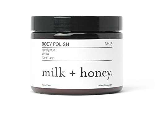 milk + honey Body Polish (Eucalyptus, Arnica & Rosemary) 7 oz