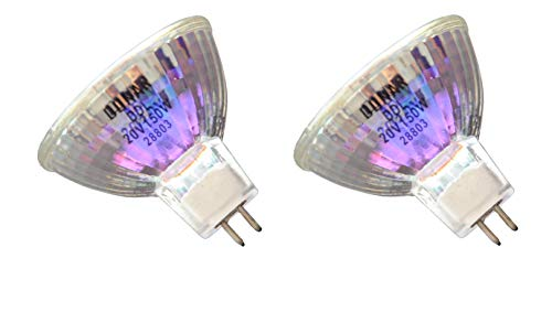 2pcs DDL 20V 150W Donar Bulb for Canon MICROFILM SCANNER MS300, MS300 II, MS400 MS500 MH7-3035 MS350 MS800 Micrographics Halogen Lamp FP 400 - OHMEDA 6 BILIBLANKET, PHOTO TERAPHY II