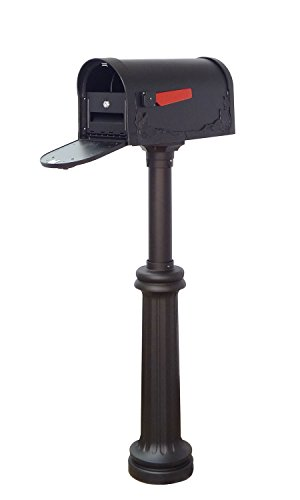 Special Lite Products Company Floral Curbside Mailbox, Locking Insert And Bradford Mailbox ()