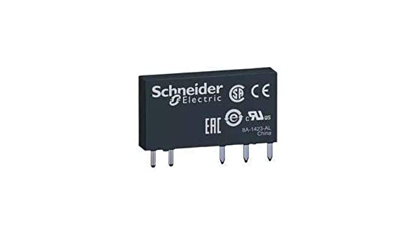 Schneider Electric RSL1AB4BD Sobre Intensidad o Intensidad Baja 2-500 Ma