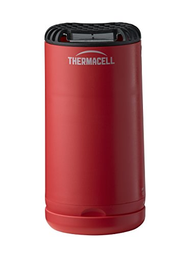Thermacell Patio Shield Mosquito Repeller, Fiesta Red; Easy to Use, Highly Effective; Provides 12...
