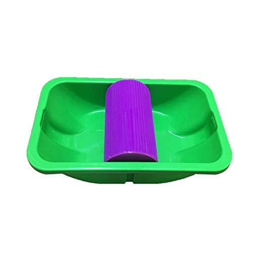 Lila 2 S/ätze VCB Point /& Paint Easy Paint Pad Punkt-Anstrichrollen-Beh/älter-Anstrich-Installationssatz Gr/ün u