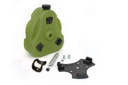 - Daystar, Yamaha Rhino Cam Can, Green, Non-Flammable Liquids, 2 Gallon, With 1 1/2