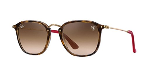 Ray-Ban Men's 0rb2448nmf6035151plastic Man Square Sunglasses, Havana, 51 - Ban Ray Ferrari