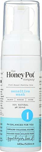 The Honey Pot Company Sensitive Wash   Herbal Infused Feminine Hygiene Natural Wash for Sensitive Skin Types   PH…