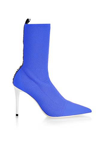 Pinko Women's 1H20FPY4DZG00 Blue Polyamide Ankle Boots dPJSbma