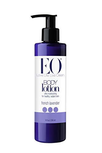 EO Botanical Ultra Moisturizing Body Lotion, French Lavender, 8 Ounce (Pack of 3)