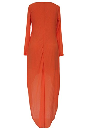 Pinkyee - Vestido - para mujer naranja