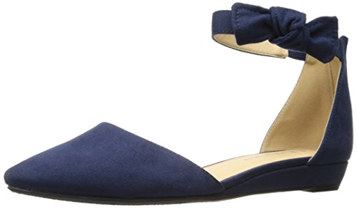 CL by Chinese Laundry Women's Sonje Pointed Toe Flat, Navy Super Suede,  6.5 M US