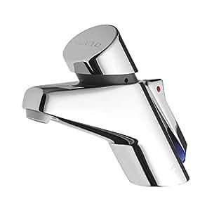 Presto Self Closing Deck Mounted Mixer Tap - France - 20504