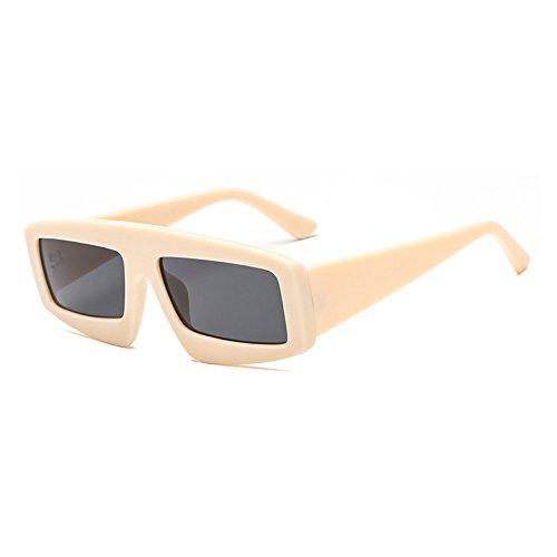 Negro la de Aviador de Tonos de Unisex Sol Gafas Gafas Bastidor Amarillo Exclusiva Gafas Marca E de D Grande Mujer Sol gradiente Burenqi Moda de 7XfwUq