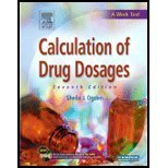 Calculation of Drug Dosages, Ogden, Sheila J., 0323041108