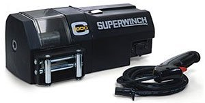 00 Crane Winch with 12 VDC - 1,000 lb/454 kg Load Capacity (Superwinch 12vdc Electric Winch)