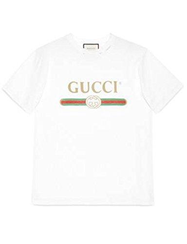 bc5f0f72fc3 Gucci Logo Tshirt White