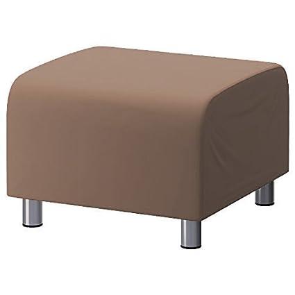 Swell Changing Sofas Stone 100 Cotton Replacement Slipcover For Ikea Klippan Footstool Creativecarmelina Interior Chair Design Creativecarmelinacom